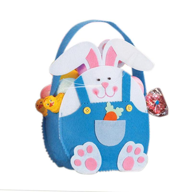 Creative bunny ear easter egg bags rabbit candy bag easter baskets creative bunny ear easter egg bags rabbit candy bag easter baskets for kids children gifts cloth gift bag party decorations 3 in gift bags wrapping negle Choice Image