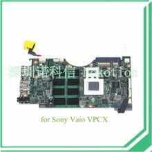 laptop motherboard for sony vaio VPCX A1737228A MBX-203 1-800-591-12