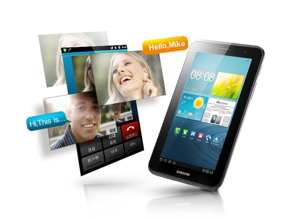 Samsung Galaxy Tab 2 7,0 дюймов P3110 WI-FI Tablet PC 1 ГБ Оперативная память 8 ГБ Встроенная память Dual Core 4000 мАч 3.15MP планшет с камерой на ОС андроид