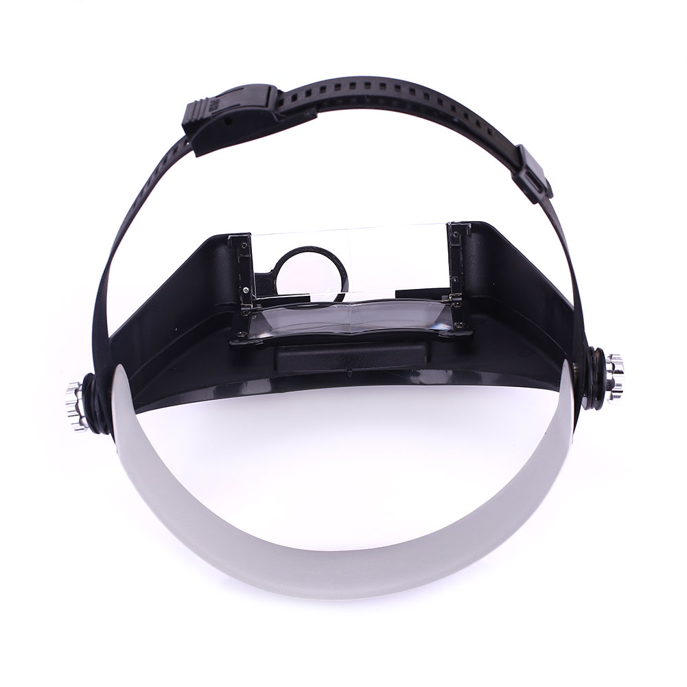 Объектив автоматический увеличительное стекло 2LED Свет Лупа на голову гарнитура