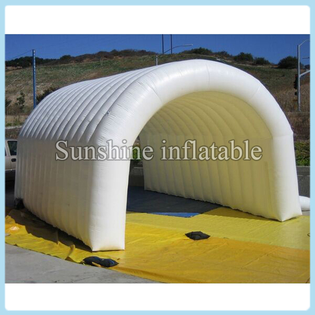 White inflatable tunnel tent for sport/ giant inflatable tunnel sport event tent inflatable car storage & White inflatable tunnel tent for sport/ giant inflatable tunnel ...