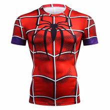 Avengers 3 Infinity War Thor 3D Printed Summer T Shirt Men Compression Fashion Men T-Shirt Crossfit Fitness Clothing Tops&Tees(China)
