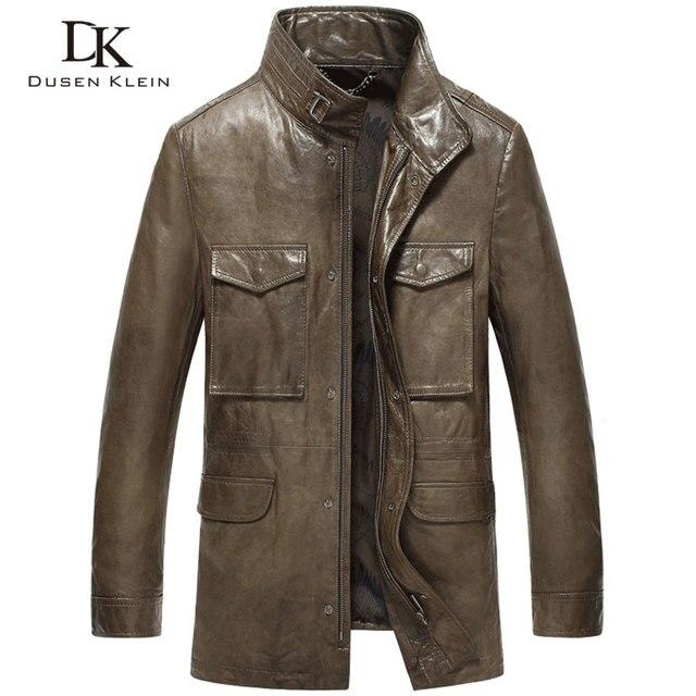 Aliexpress.com : Buy Mid Long Leather coats men 2016 New sheepskin ...