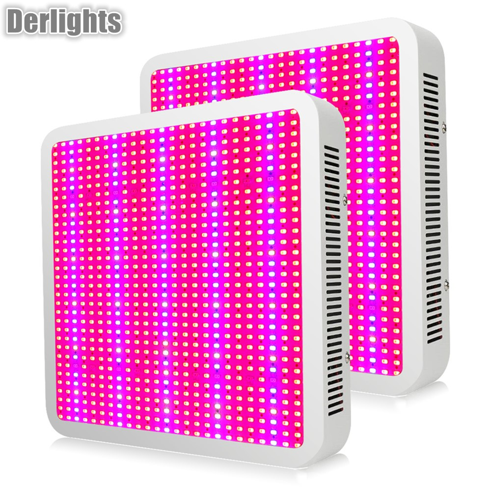 2PCS Full Spectrum 800W LED Grow Light Red/Blue/White/UV/IR AC85~265V Led Plant Lamp For Greenhouse Plant Growing Flowering best full spectrum 300w led cultivate light for hydroponics greenhouse grow tent led lamp suitable for all plant growth 85v 265v