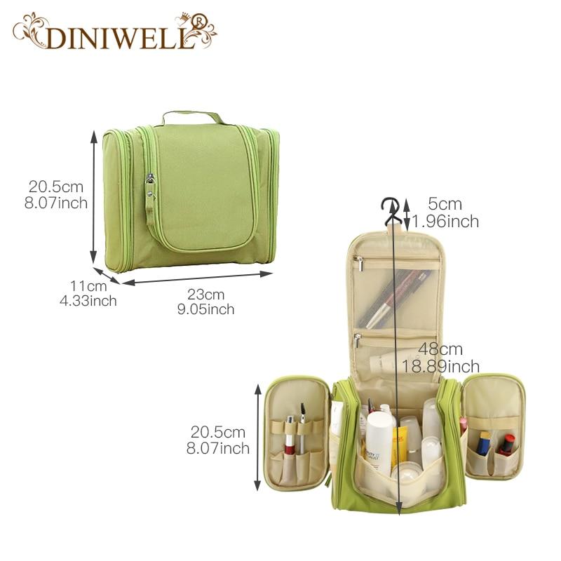 Waterproof Travel Organizer Bag Unisex Hanging Makeup Storage Bags - Organisasi dan penyimpanan di dalam rumah - Foto 6