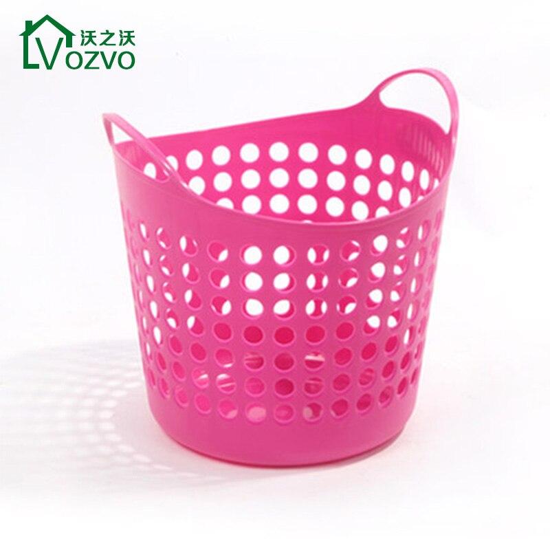 Pink Plastic Laundry Basket Amazing Waugh Of Waugh Large Plastic Laundry Basket Multifunction Household