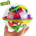 Новый 3D головоломки мяч лабиринт шар 138 барьеры пространство интеллект игры этапы дети мальчик игрушка в подарок Z13