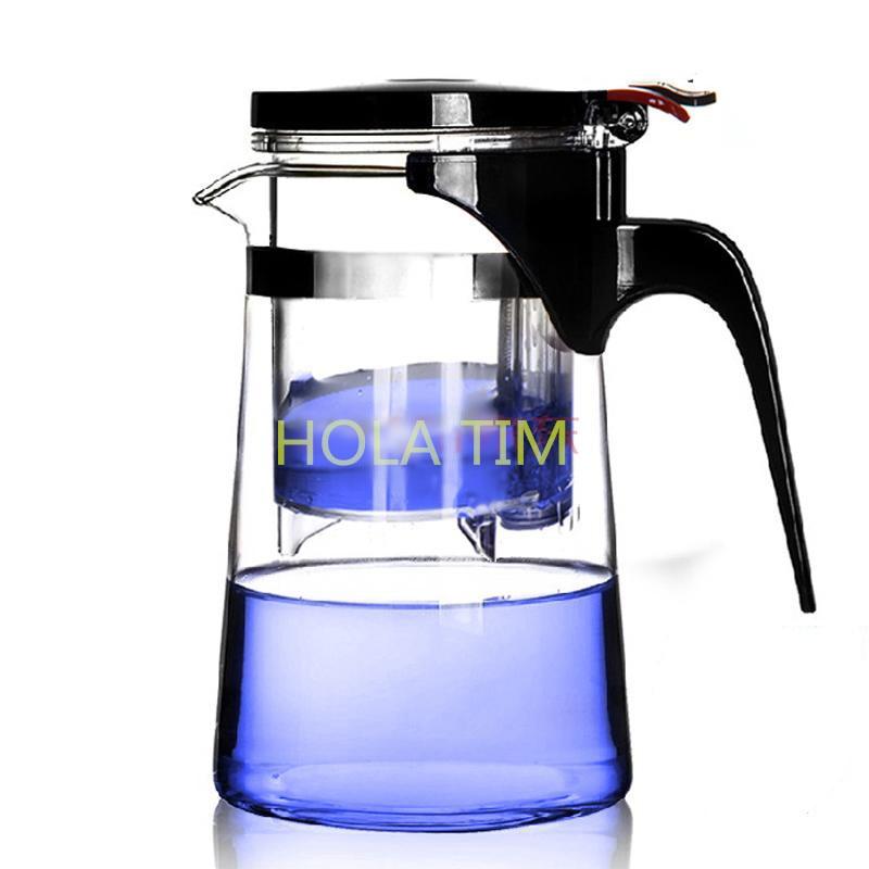 2016 HOT Sale New Arrive 750ml puer Tea Pot coffee pot Heat Resistant Glass Teapot Convenient
