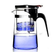 2016 HEIßER Verkauf Neu Kommen 750 ml puer Tee kaffeekanne Hitzebeständigem Glas Teekanne Bequem zu hause & offlce tee-set teekanne