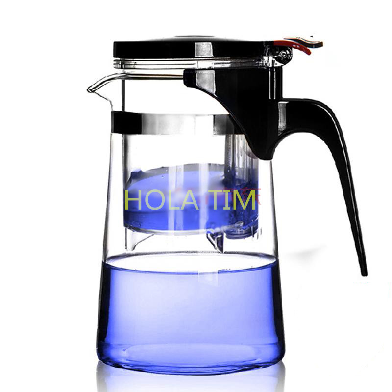 2016 HOT Sale New Arrive 750ml puer Tea Pot coffee pot Heat Resistant Glass Teapot Convenient home&offlce tea set travel tea pot