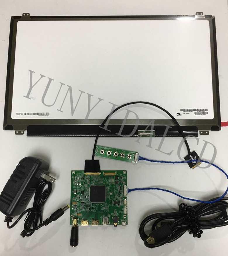 15 6 inch 4K 3840*2160 UHD New Original Display DisplayPort Driver Board  Wide Angle DP LCD Screen Module Monitor Laptop PC