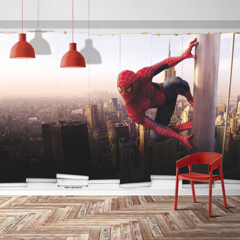 3D Wallpaper And Mural Spider Man Spiderman Wallpaper  PW1500205323