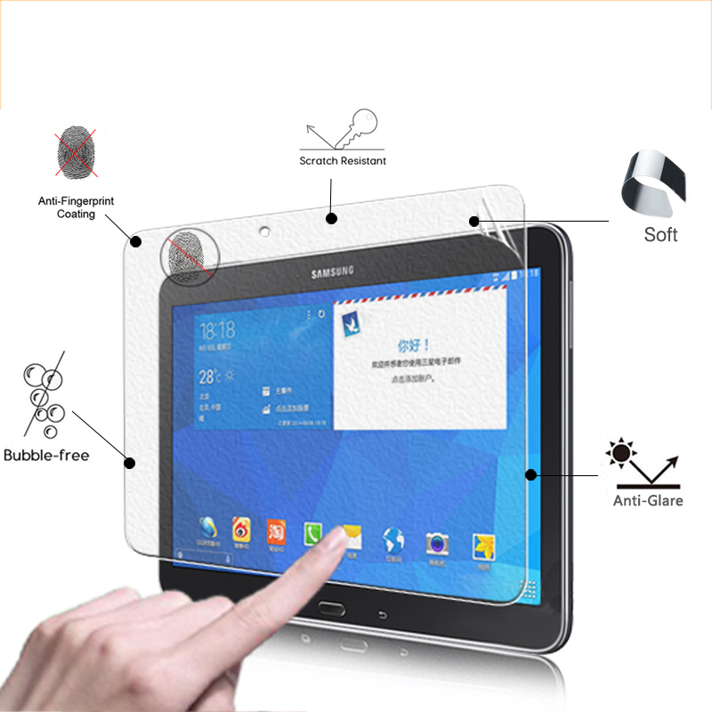 BEST Front Screen Protector Film For Samsung Galaxy TAB 4 T530 T531 T535 10.1