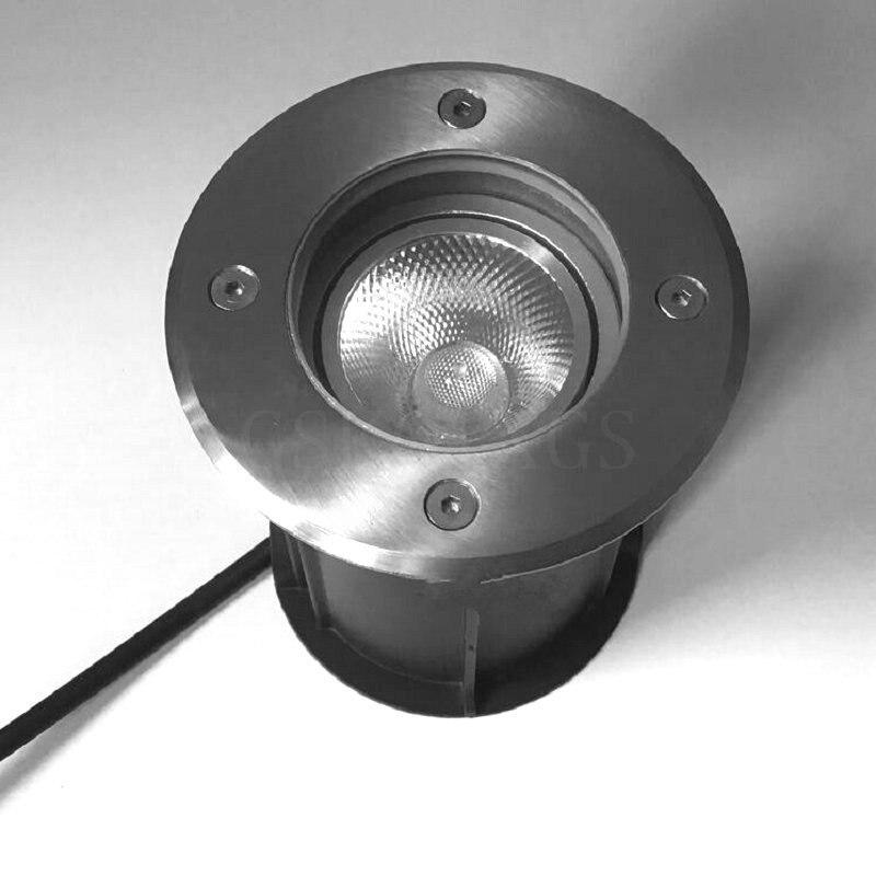 Adjustable angle Waterproof LED light garden underground 15W IP68 Outdoor Buried Garden Path Spot Recessed Inground Lighting|LED Underground Lamps| |  - title=