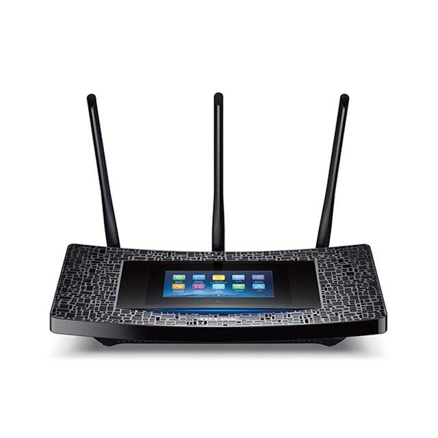 NEW TP-LINK Toque P5 AC1900 TouchScreen 2.4G & 5G wrieless wi-fi extensor Roteador 3 antenas Gigabit USB 1 porta [Firmware inglês]