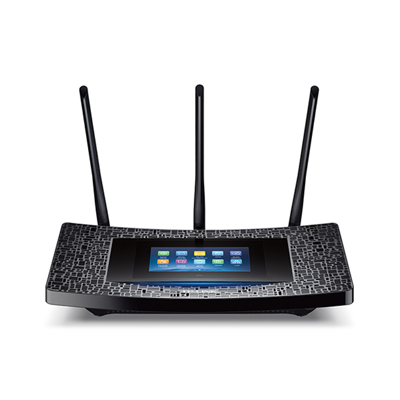 NEW TP-LINK Touch P5 AC1900 TouchScreen 2.4G&5G Gigabit wrieless wifi extender Router 3 antennas 1 USB port [English Firmware]