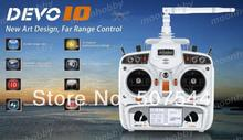 Devo 10 white 2 4Ghz 10Ch Walkera Radio Walkera QR X350 PRO Parts Free Shipping with