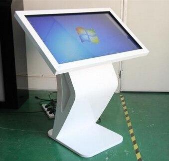 Support de sol intelligent HD 42/47/55 pouces wifi LED lcd publicité écran partagé lecteur vidéo affichages de signalisation numérique