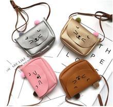 Hot Famous Brand Women Cute Cat Handbag Mini Sweet Girls Messenger Bags 2017 Fashion Casual Leather Shoulder Bag bolsa недорого