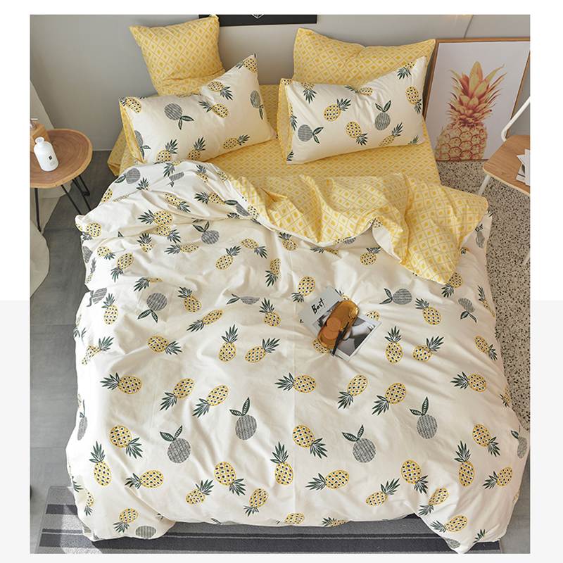 100x250cm/piece 100% Pure Cotton Fabric, DIY Sewing Will Bedding Quilt Children Fresh Style Baby Bed Sheet Denim Bedding Fabric