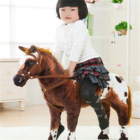 Fancytrader 35 ''/90 см JUMBO забавные плюшевые мягкие плюшевые прекрасная игрушка лошади, хороший подарок для детей, бесплатная доставка FT50614