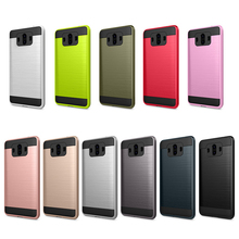 Heavy Duty Protection Doom Hybrid Brushed Dual Layer Shockproof Armor Case For Huawei P10 P20 Plus Lite Pro Mate 10 Cover Caqa