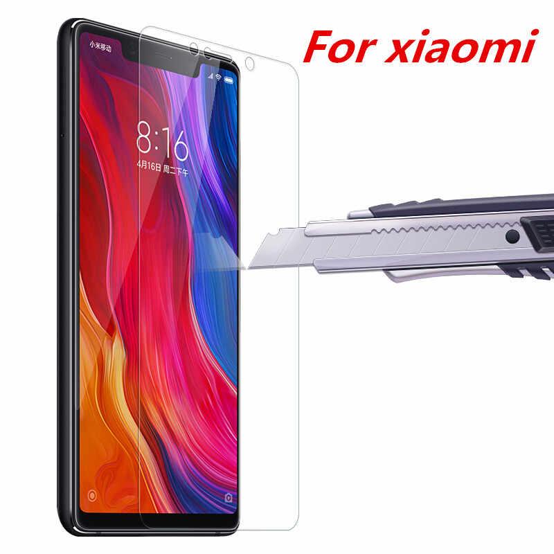 מגן זכוכית לxiaomi Redmi הערה 7 8 8SE A1 5S מקסימום 9 H 2.5D אנטי פיצוץ מסך מגן עבור redmi הערה 4 5 פרו סרט
