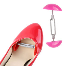 1Pair Mini Adjustable Shoe Trees Plastic Women Mini Shoes Keepers Support Care Stretcher Shoe Shapers Shoes Expander Extender 1 pair shoes trees expanding wide of shoes flats support device shoes trees adjustable shoe stretchers for women zh541