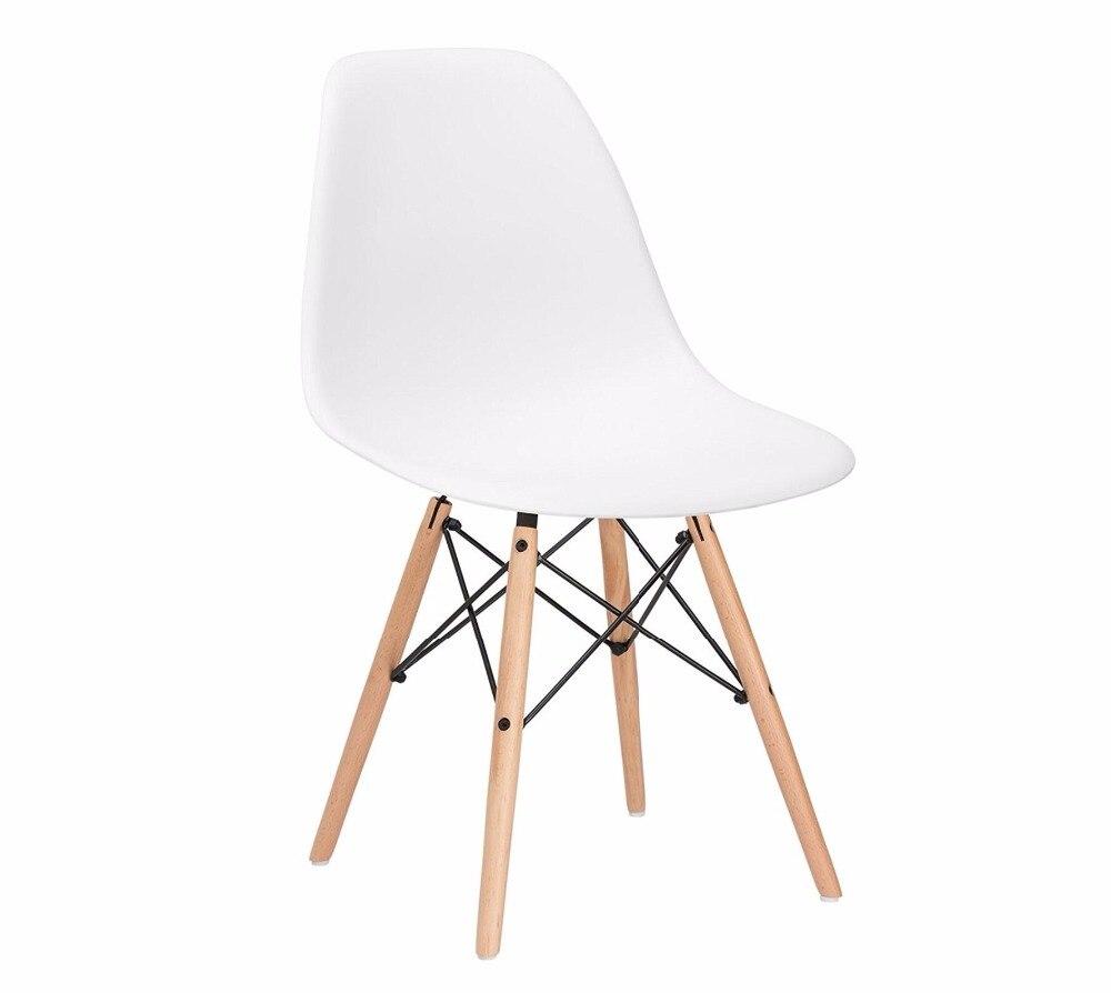 4 шт. набор (в наличии в России) Ланская Пластик современный минималистский мебель для столовой стулья стул современный дизайн для отдыха