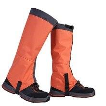 Новые уличные снежные наколенники, лыжные скалолазание, Защита ног, защита для спорта, безопасность, водонепроницаемые ноги, теплое оборудование