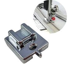 1 шт. металлический невидимая застежка-молния, шитье машина для ног Творческий дом полезные швейные инструменты сделай-сам Одежда высшего качества прижимных лапок для швейной машинки