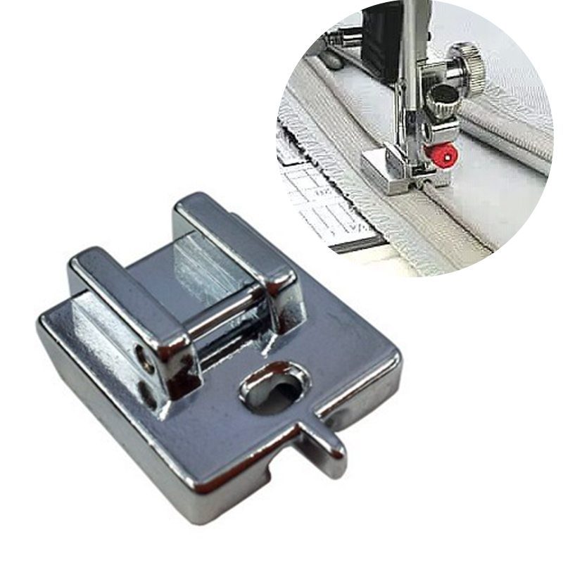 1pc Metal Invisible Zipper Sewing Machine Foot Creative Home Useful Sewing DIY Tools Top Quality Sewing Machine Presser Foot