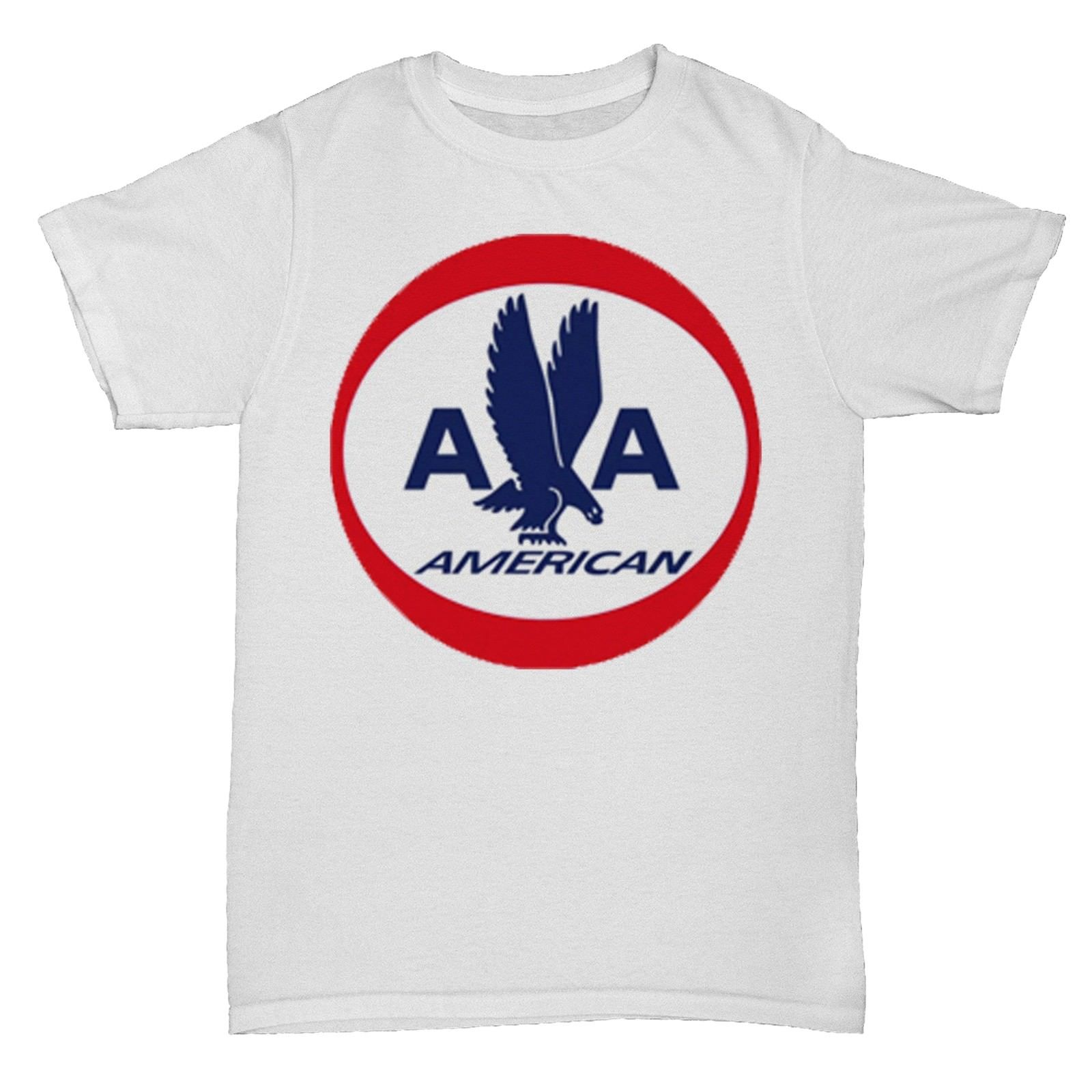 AMERICAN USA AIRLINES RETRO AEROPLANE BOAC PAN AM T SHIRT O-Neck Sunlight Men T-Shirt To ...