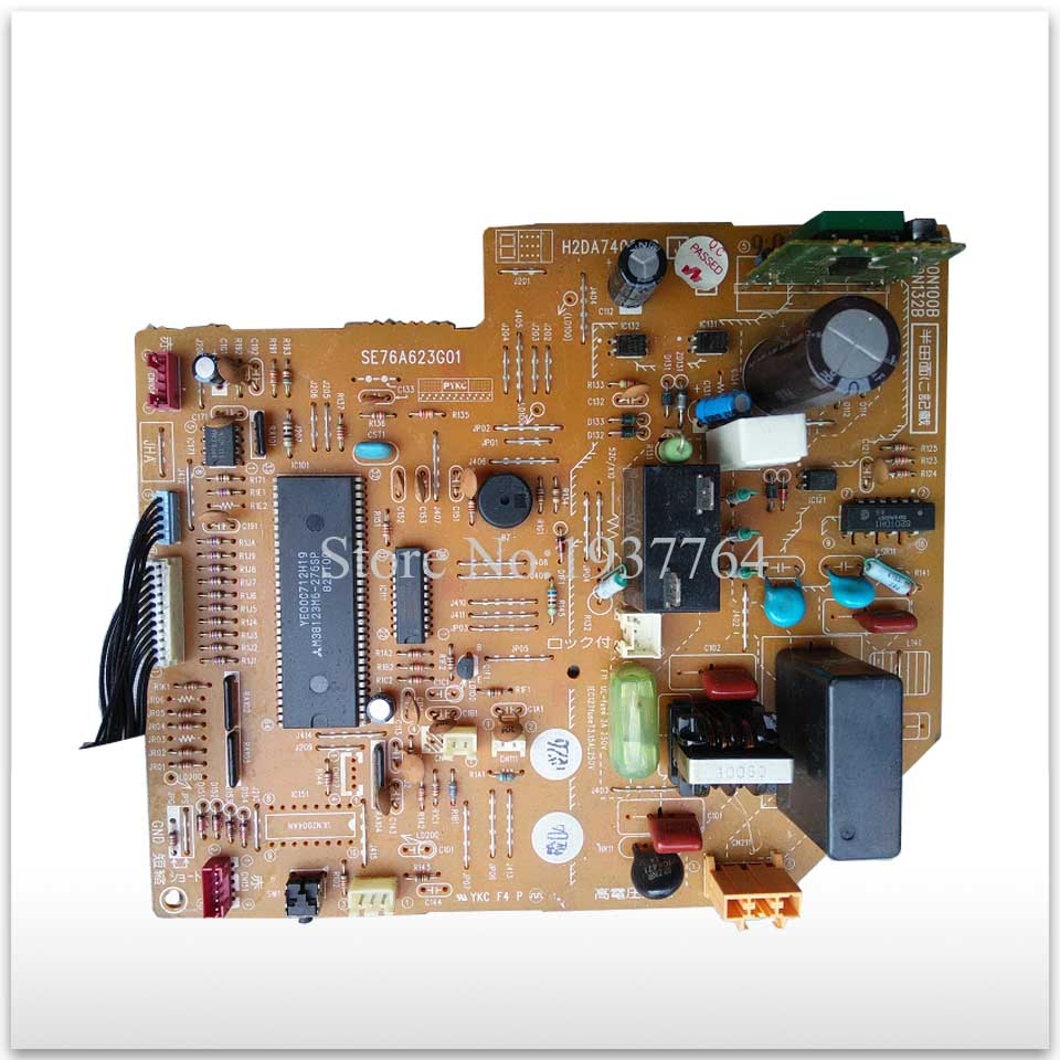 Air conditioning used computer board circuit board SE76A623G01 H2DA740G09 good working original good working for tcl air conditioning computer board used circuit board tcl32ggft808 kz