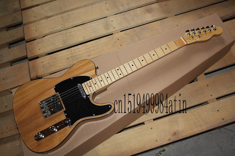 Free shipping Best price High Quality nature color telecaster guitar AmeRican standard telecaster electric Guitar