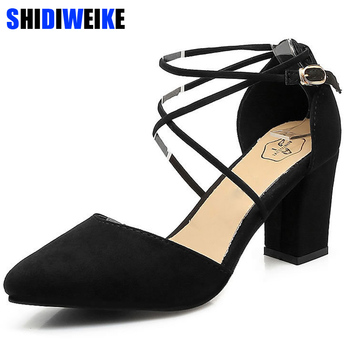 104115db Sandalias de gladiador Zapatos de Mujer Sexy punta Mujer bombas verde damas  Zapatos de Mujer Zapatos de tacón alto boda Plus tamaño 35 -39