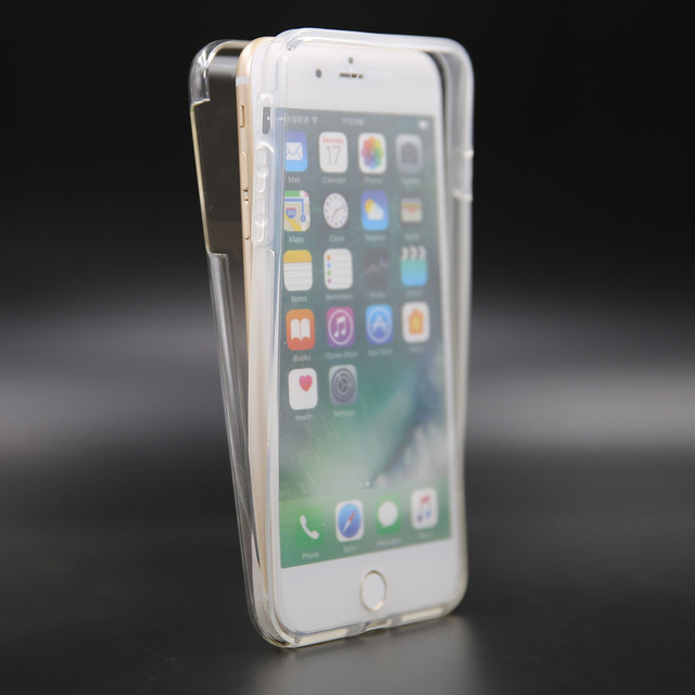 a5a7e273b For Apple iPhone 8 Plus Full Body Coverage Shockproof Protective Case Clear  Gel Silicone Hard