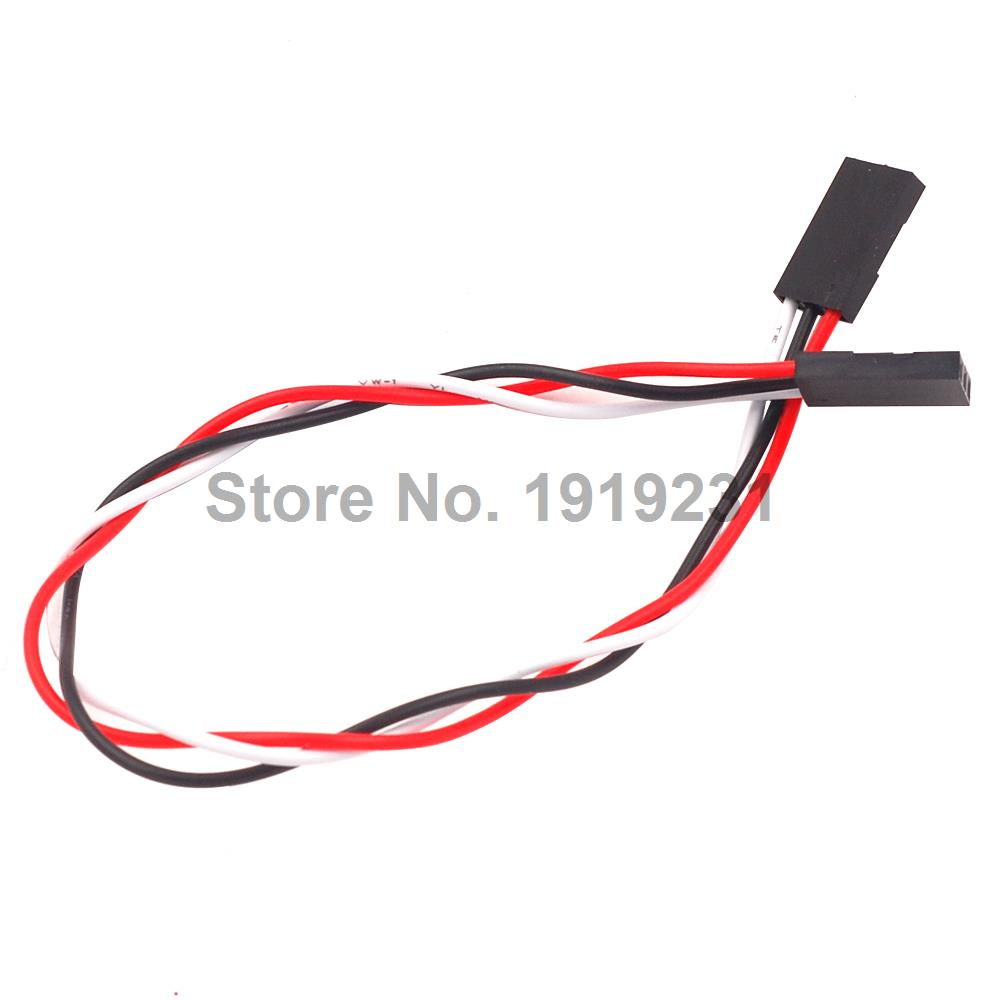 10PCS 3Pin 3P F/F Jumper Wire 200mm 20cm Female to Female Dupont Cable free shipping 10 pcs lot 70cm 3 pin 3pin female to female jumper wire dupont cable