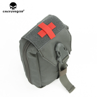emersongear Emerson Combat Military Airsoft First Aid Kit Pouch Medic Pouch Molle Nylon EDC Survival Bag Outdoor Sports Modular
