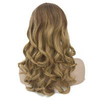 Soowee Synthetic Hair Long Curly Cosplay Wigs Heat Resistance Fiber Women's Wig Party Hair piece