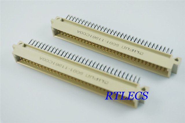 5pcs din 41612 connector 3 rows 96 positions din plug header male 5pcs din 41612 connector 3 rows 96 positions din plug header male pin right angle through publicscrutiny Image collections