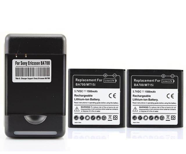2x 1800mAh BF5X Battery + Charger For Motorola Defy,MB525,ME525 MB520,Bravo XT862 (Droid 3) Photon 4G,MB855 XT531