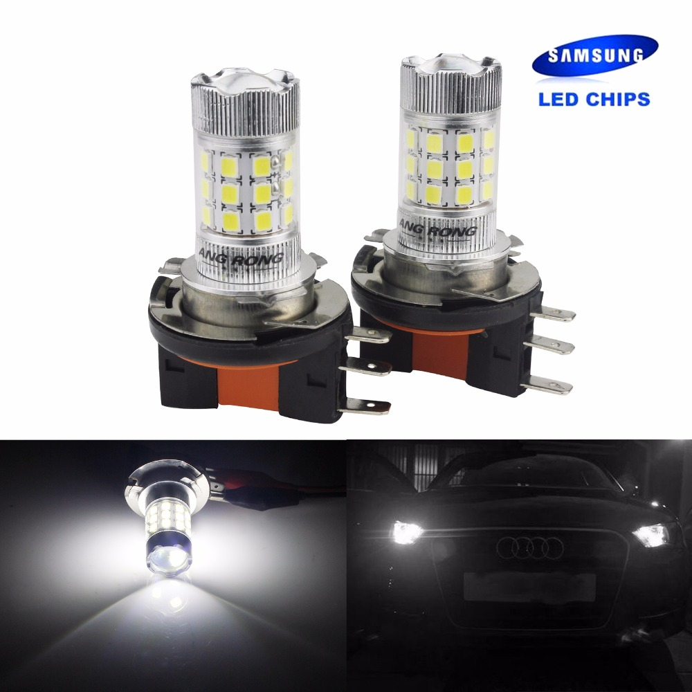 One OSRAM H15 12V 55W//15W High//Main beam//DRL Bulb for VW Caddy 2011 and later