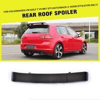 Carbon Fiber Rear Roof Boot Lip Spoiler Wings for Volkswagen VW Golf 7 VII MK7 GTI R Hatchback 2014 2017 Car Styling