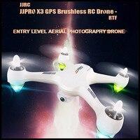 JJRC JJPRO X3 gps Радиоуправляемый Дрон 500 м далеко бесщеточный RTF Wi Fi FPV 1080 P Full HD режим Крытый высота провести свет Радиоуправляемый квадрокоптер На