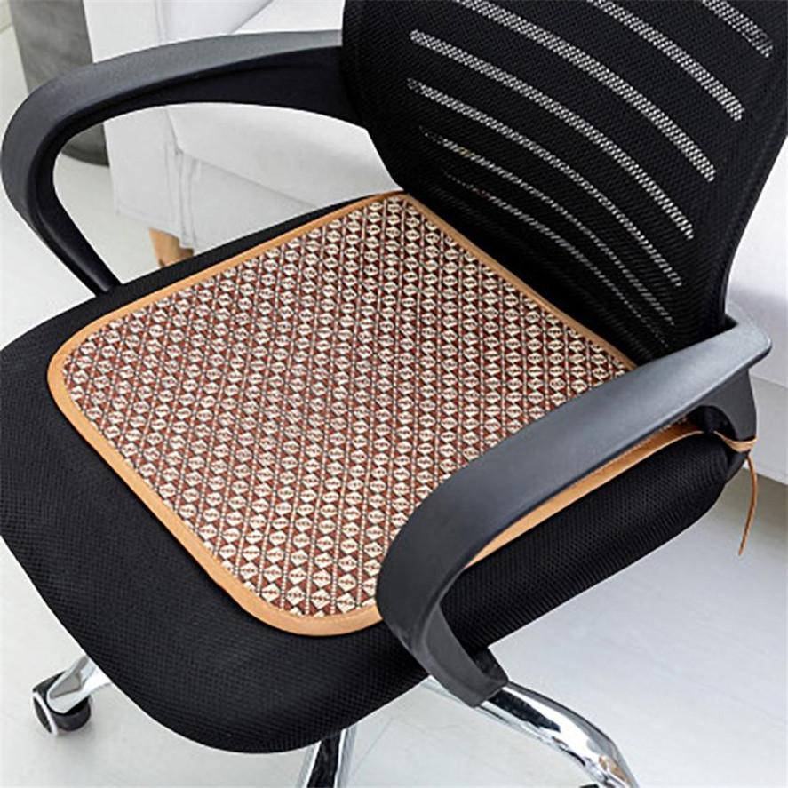 New Seat Cushion 3Pcs Summer Cushion Handmade Cool Summer Square Chair Pad Seat for Home Office Cushions 35