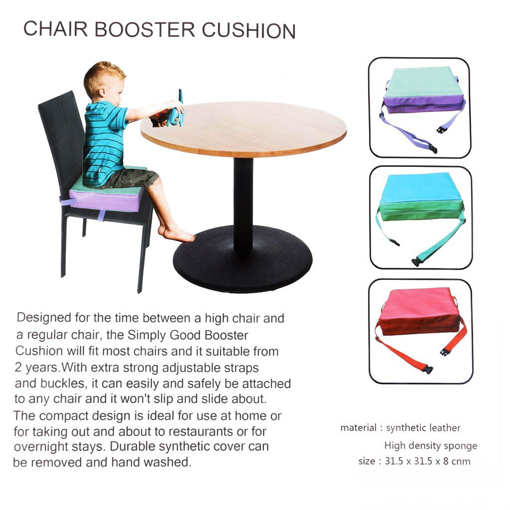 Incredible Us 12 13 46 Off Faux Leather Children Kids Dining Chair Booster Cushion Baby Seats Booster Cushion Toddler Highchair Seat Pad High Chair In Cushion Beatyapartments Chair Design Images Beatyapartmentscom