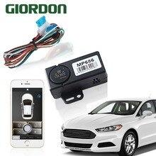 Умный телефон ручное управление автомобилем, мобильный телефон встряхнуть 2 раза вкл/выкл замок, оригинальный автомобиль рог/направление световой выход приглашение