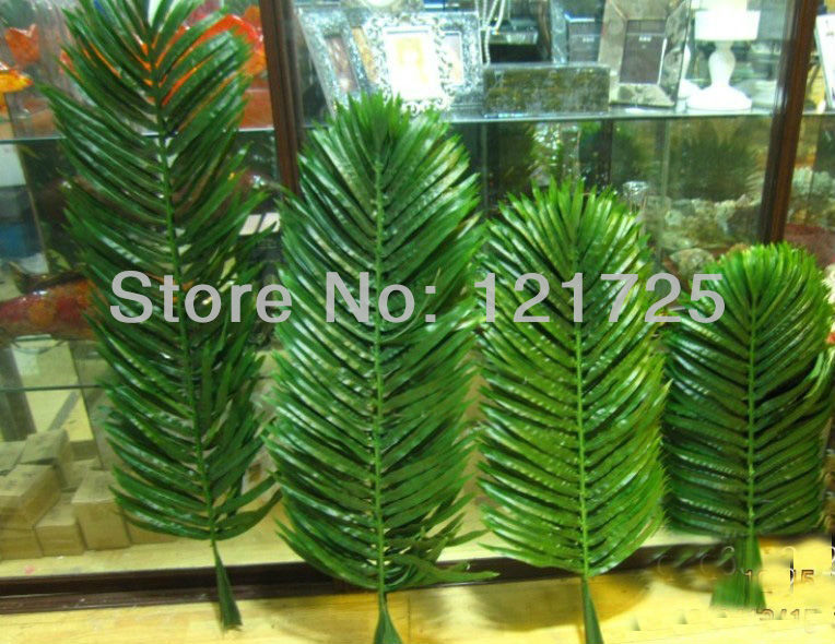 Online get cheap palm leaves alibaba group for Artificial leaves for decoration