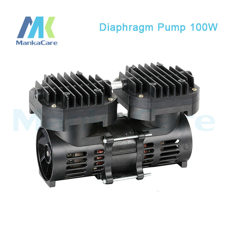 Manka Care -110V /220V (AC) 35L/MIN 100 W medical diaphragm vacuum pump /Silent Pumps/Oil Less/Oil Free/Compressing Pump manka care 110v 220v ac 50l min 165w small electric piston vacuum pump silent pumps oil less oil free compressing pump